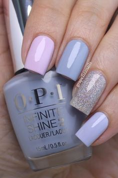 Spring nails nail designs 2019 - page 92 of 200 - nagel-design-bilder.de - Spring nails nail designs 2019 You are in the right place about spring nails easter Here we offer y - Short Nail Designs, Simple Nail Designs, Nail Art Designs, Nails Design, Design Art, Love Nails, How To Do Nails, Fun Nails, Periwinkle Nails