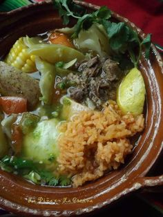 Caldo de Res~It's a Sunday Thing (Mexican-Style Beef Soup)