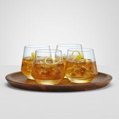 cocktail set + wood tray | RedEnvelope.com