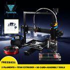 Tarantula i3 3D Printer Kit /SD-Card Reader / USB 2.0 & 2 Rolls Filament Bundle