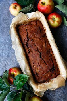Chocolate Apple Cake (vegan, gluten-free, nut-free) - Nirvana Cakery