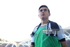 Paulo Dybala (Juventus FC) before the Serie A football match between Juventus FC and SS Lazio at Olympic Allianz Stadium on 14 October, 2017 in Turin, Italy. (Photo by Massimiliano Ferraro/NurPhoto via Getty Images)