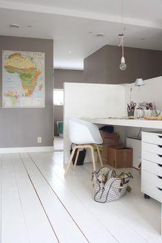 Zonas de trabajo en casa http://abitaredecoracionblog.com/decorar-una-zona-de-trabajo-en-casa/