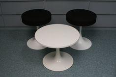 Saarinen stools and table