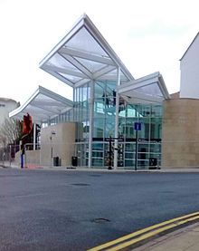 The New Northampton Bus Station