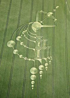 elaborate crop circle designs