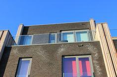roofterrace glas ballustrade