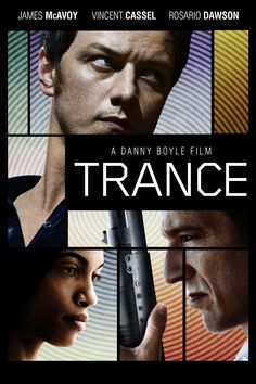 Movie 86. Trance - I <3 James McAvoy and Vincent Cassel.