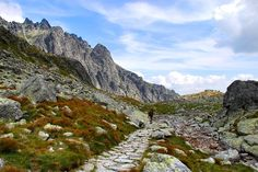 High Tatras - Vysoke Tatry, Presovsky High Tatras, Hiking, Mountains, Water, Pictures, Travel, Outdoor, Walks, Gripe Water