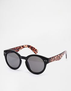 b0a1aca7cfc ASOS Round Sunglasses With Chunky Frame Cheap Sunglasses