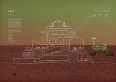 // 24H COMPETITION 13th edition - mars // honorable mention - ID000740 Team: David Emmons, Claire Gaspin City: Champaign Country: United States
