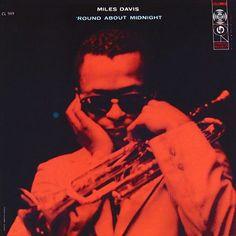 Neil Fujita: 'Round About Midnight by Miles Davis,1957, cover design by S. Neil Fujita