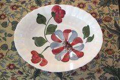Whirligig BLUE RIDGE SOUTHERN POTTERIES Side Vegetable Bowl Vintage #BlueRidgeSouthernPotteries