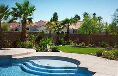 Las Vegas Landscape Water Feature: Pool