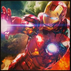 """My old man had a philosophy: Peace means having a bigger stick than the other guy"" ~ Iron Man"