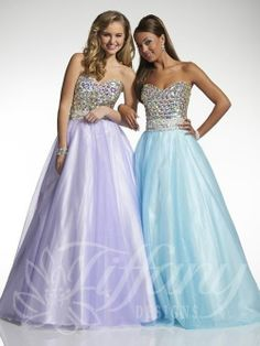 Tiffany prom 2014 | A fantastic ballgown!  | Elegant Occasions Gowns - Lincoln, NE  #tiffany  #prom2014  #ballgown