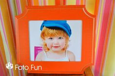 Bright-colored frames are perfect for your kid's space!