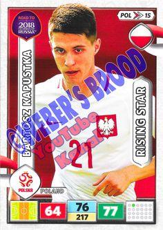 POL15. Bartosz Kapustka (Poland) - Rising Star Panini Road to 2018 FIFA World Cup Russia Adrenalyn XL