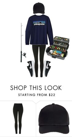 """I need to go fishing again ASAP! 😩🎣"" by sydthekyd01 on Polyvore featuring Topshop, Miss Selfridge and NIKE"