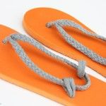 Refashioned Flip-Flops (And these would be suuuper cute!)