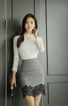 Very Classy... Lace #KoreanFashion