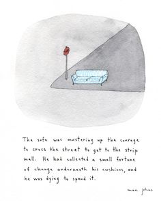 Marc Johns: the Fidgety Furnishings of Roseberry Lane///dear couch! Marc Johns, Oui Oui, Cute Art, Artsy Fartsy, Art Inspo, Illustration Art, Doodles, Cool Stuff, Drawings