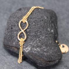 Double Infinity Bracelet. love love love.