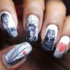 paperman valentine by riddhisn #nail #nails #nailart