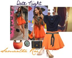 """date night"" by samantha-edlin on Polyvore"