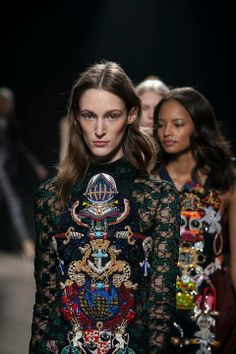 Mary Katrantzou, London Fashion Week, Ready To Wear Collection Fall Winter 2014