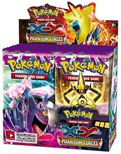 Pokemon XY XY4 TCG Card Game Phantom Forces Booster Box - 36 Booster Packs of 10 cards each - NEW MEGA EX'S! Pokémon