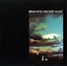 "Another day, another brilliant Brian Eno album cover. ""Discreet Music"" by Brian Eno"