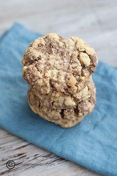 nutella peanut butter cookies recipe