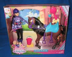 Barbie & Her Sisters In A Pony Tale Skipper & Horse Set NEW #MATTELBARBIE #DollswithClothingAccessories