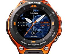 Casio WSD-F20 official with rugged design Android Wear 2.0