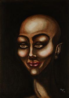 Original Paintings, Original Art, Female Portrait, Woman Portrait, Abstract Portrait, Painting Process, Woman Painting, Beautiful Black Women, Artwork Online