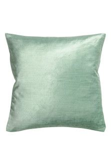 Velvet cushion covers, available in other colous at H&M.
