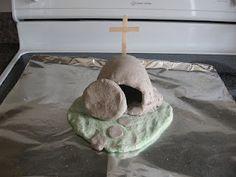 Salt Dough Tomb and Resurrection Scene