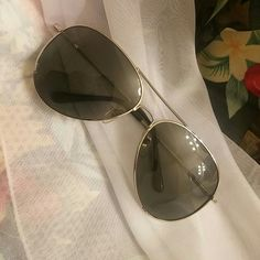 ??Aviator Glasses?? ??Silver with black specs?? brand new! Accessories Glasses