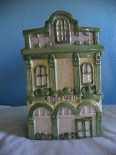 Post Office Ceramic Cookie Jar, Excellent Condition, Unmarked