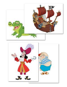 printable jake and the neverland pirates | Jake and the Neverland Pirates Printable Centerpiece 2...The not so ...