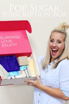The Subscription Box: Pop Sugar Must Have The Cost: $39.95 a month.  Look for coupon.  This would be so awesome!