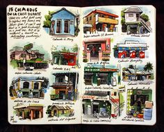 Dominican Republic sketches from Sketchbuch