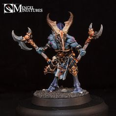 Tutorial: Painting Tzaangors