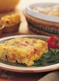 Canned Salmon - Recipes - Entrees - Mexi-Salmon Breakfast Bake/ Just had it for dinner, great!