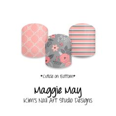 "Maggie May: If you want to get these beauties of your fingers and toes, head on over to my Jamberry Nail Art Studio Marketplace! Simply click on the image above and it will direct you right to the listing! To see more of my designs and some special sales, join my Facebook group ""Kim's Nail Art Studio Designs"" at www.facebook.com/groups/925106354278688 Thanks for the interest in my designs!"