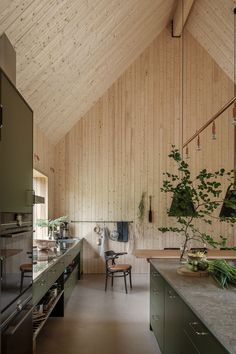 Interior Exterior, Interior Architecture, Natural Architecture, Kitchen Dinning, Dining, Piece A Vivre, Wood Interiors, House Goals, Kitchen Remodel