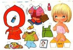 **´¯`*♥¸¸*♥`*ESPAÇO APRENDENTE**´¯`*♥**´¯`*♥**: Bonequinhas de papel - para imprimir, recortar e brincar