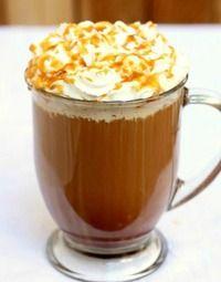 Homemade Salted Caramel Mocha