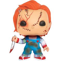 Buy Bride of Chucky Chucky Funko Pop! Vinyl from Pop In A Box Canada, the home of Funko Pop Vinyl collectibles figures and other Funko goodies! Pop Vinyl Figures, Pop Action Figures, Hot Topic, Funko Pop Horror, Good Guy Doll, Horror Merch, Childs Play Chucky, Funko Pop Dolls, Bride Of Chucky